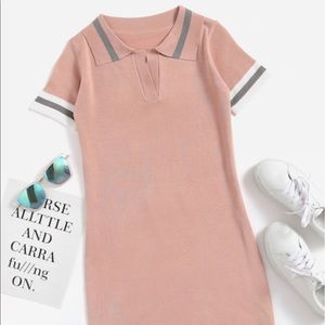 Dresses & Skirts - Short sleeve knit dress One size (Fits S/M)